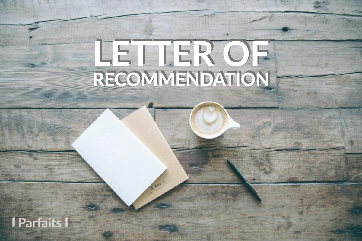 การขอ Recommendation จากคุณครู